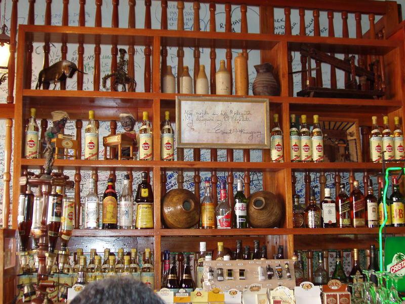 Cafe im Havana (cafe fon Ernest Hemingway )