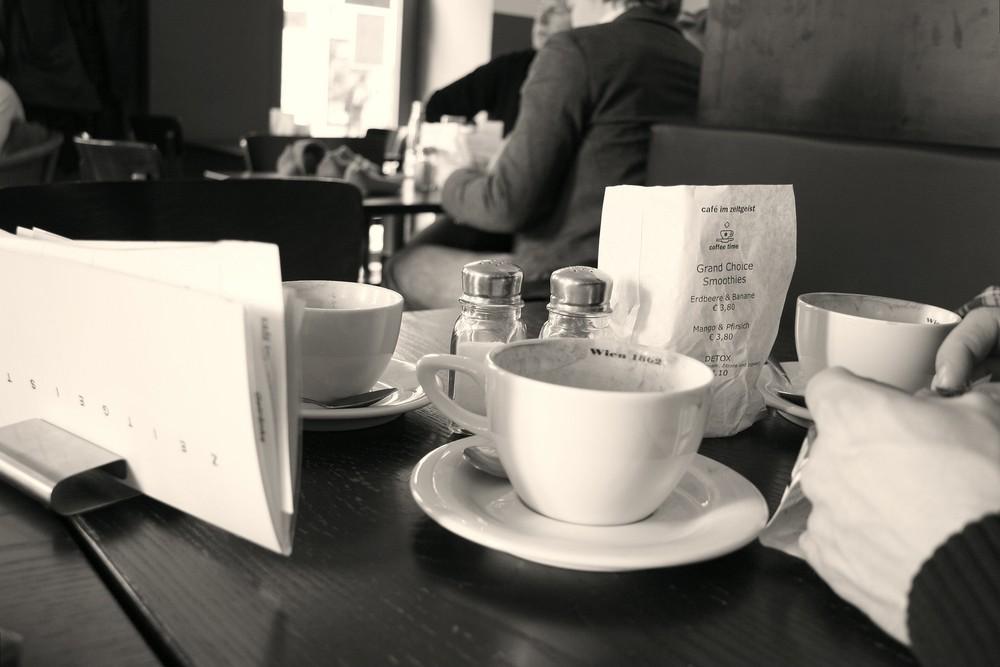 Cafe im Zeitgeist ...