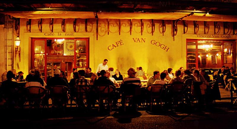 Café la Nuit in Arles