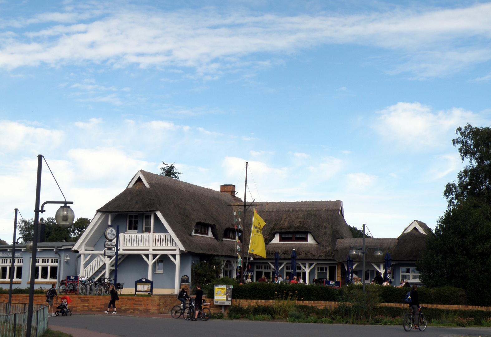 Cafe Lange in Wieck/D.