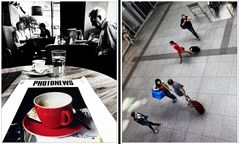 Cafe rosso .