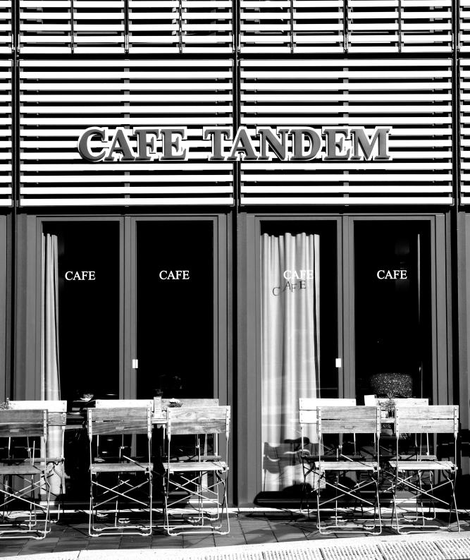 Cafe Tandem hat noch Plätze frei