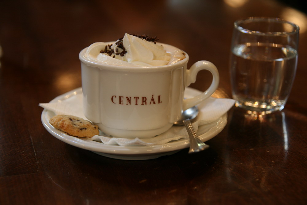 Cafe Zentral in Budapest