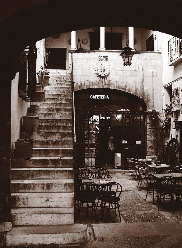 Cafeteria in Palma (Mallorca)
