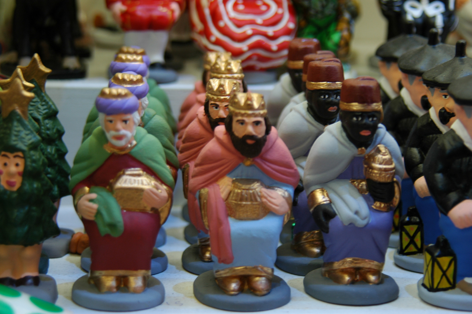 Caganers reials.