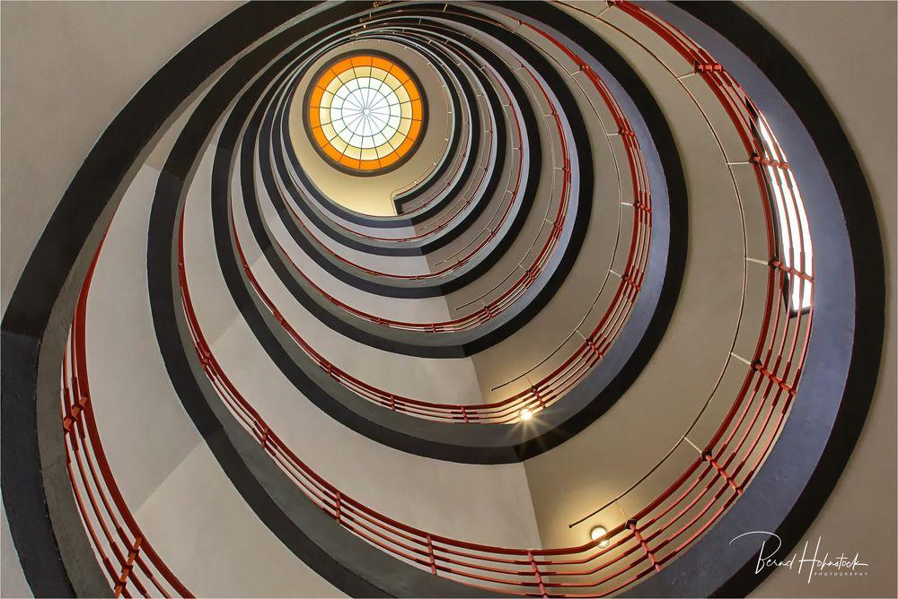 Cage d'escalier ....
