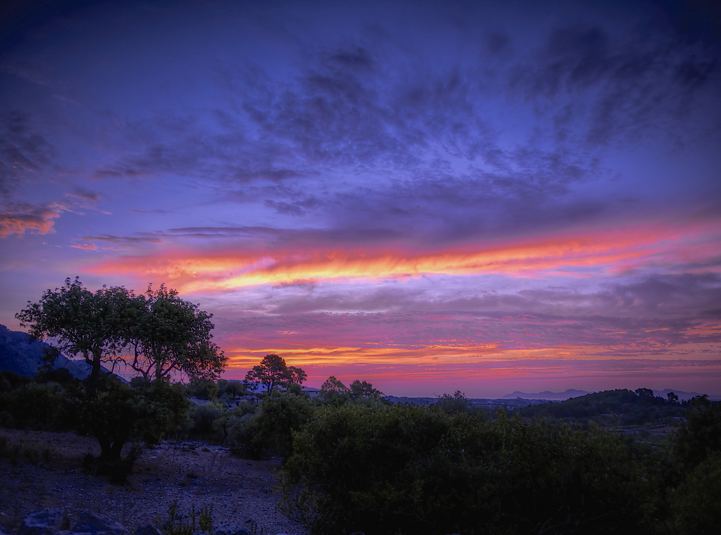 Caimari Sonnenuntergang