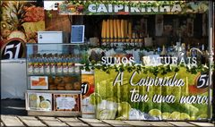 «Caipirinha» brazilian drink.