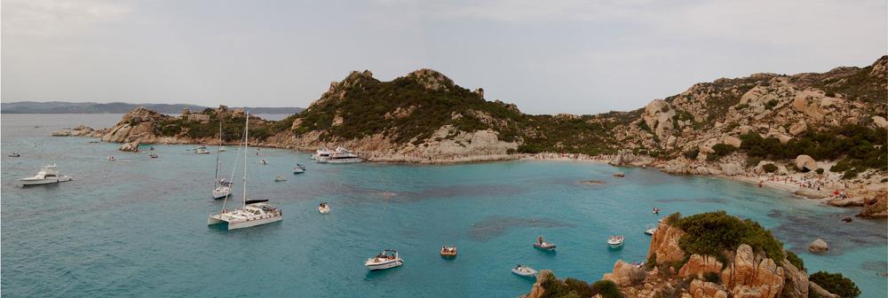 Cala Corsara (Isola Spargi) Arcipelago di La Maddalena -Sardegna-