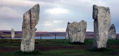 Calanais standing stones - -