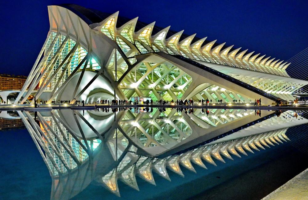 Calatrava City: Museum der Wissenschaften