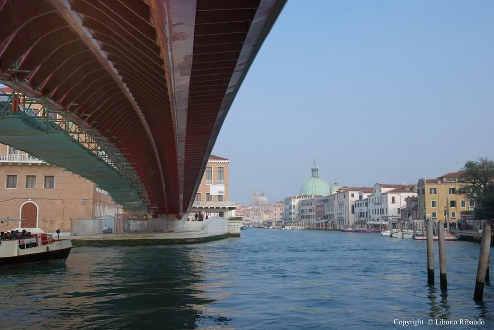 Calatrava, un balzo sul Canal Grande