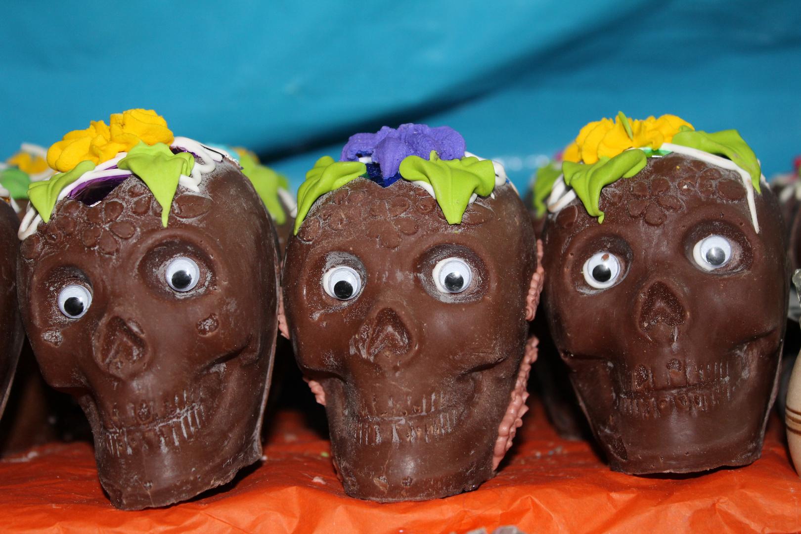 Calaveritas de chocolate!