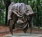 """""""Caldera"""" im Skulpturenpark des englischen Bildhauers Toni Cragg in Wuppertal"""