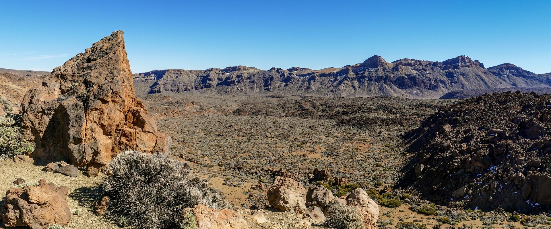 Caldera las Cañadas del Teide