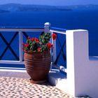 Caldera-View in Oia.