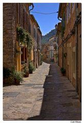 calle con encanto de Esporles ( Mallorca)