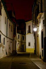 Calle de noche