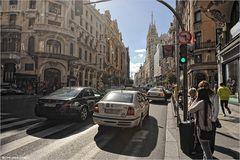 * Calle Gran Via *