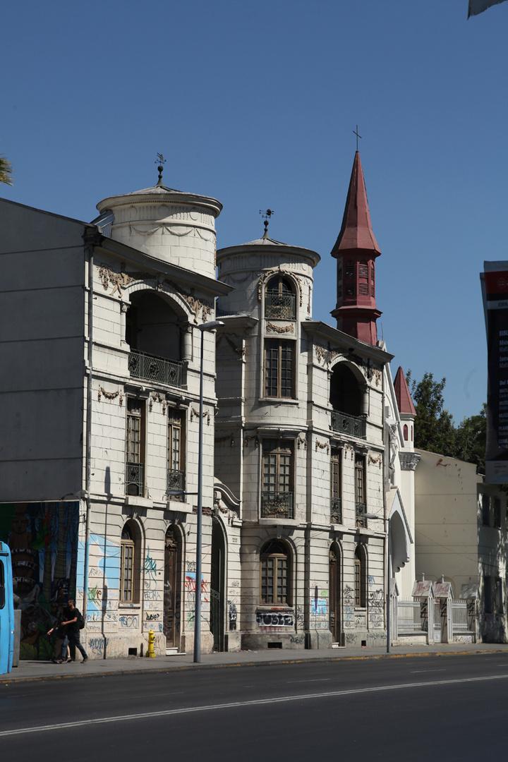 Calle Matucana, Santiago de Chile