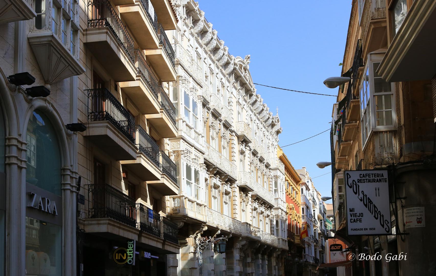 Calle Mayor Foto Bild Architektur Jugendstil Cartagena Bilder
