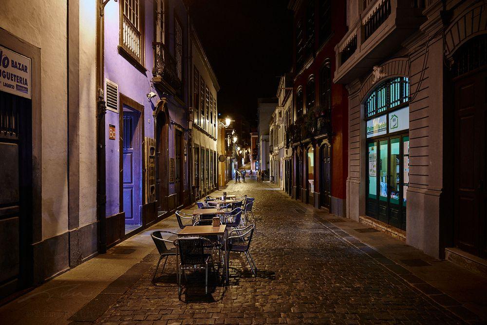 Calles nocturnas de Santa Cruz de La Palma (3)