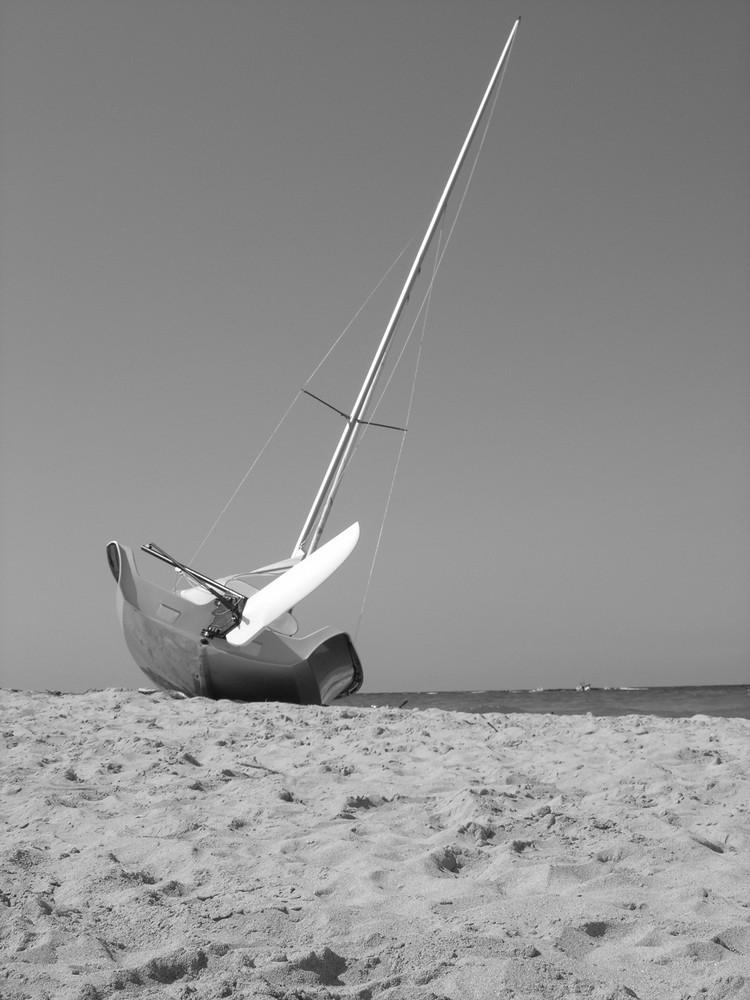 calma dopo la............ regata