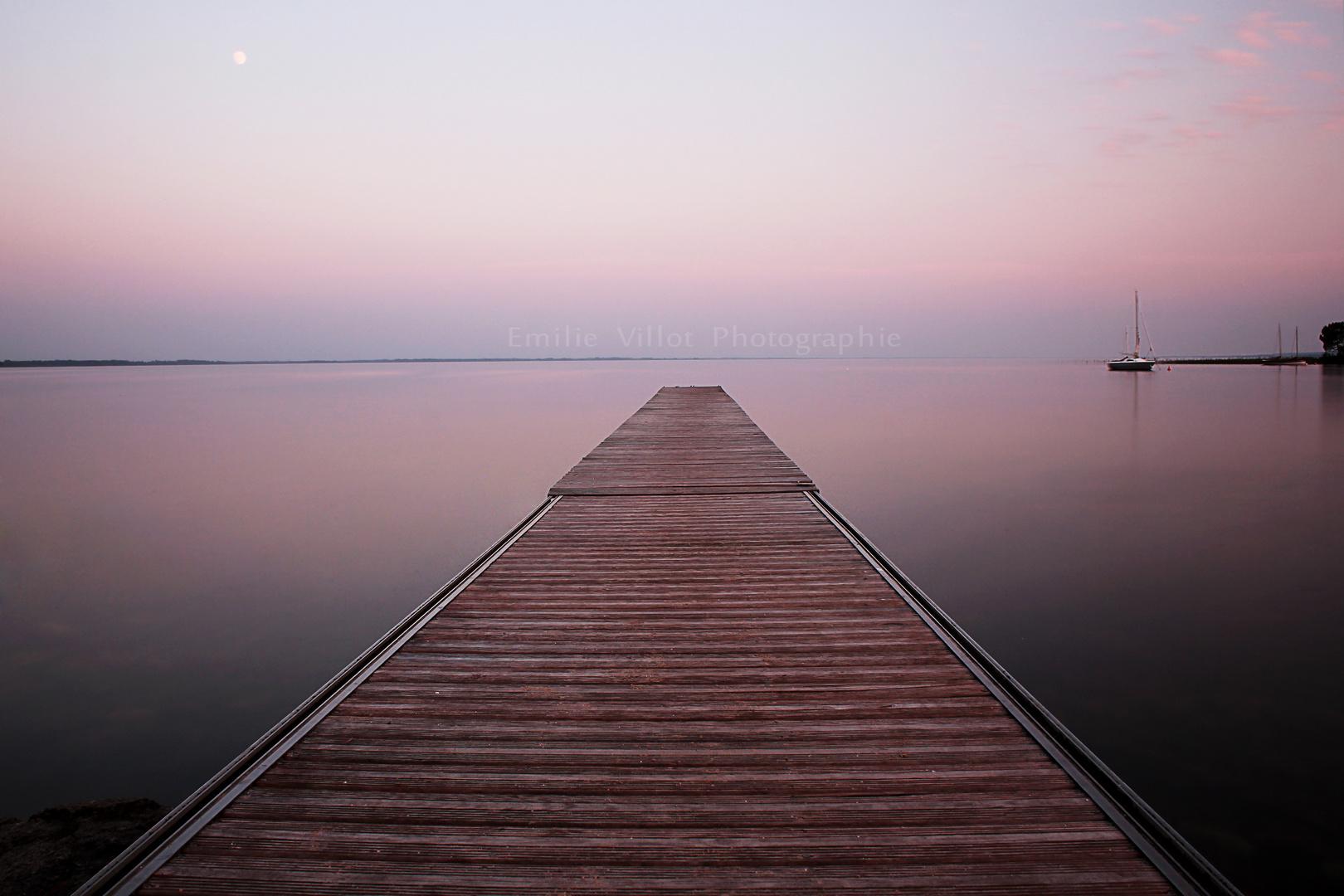 Calme - Lac d'Hourtin