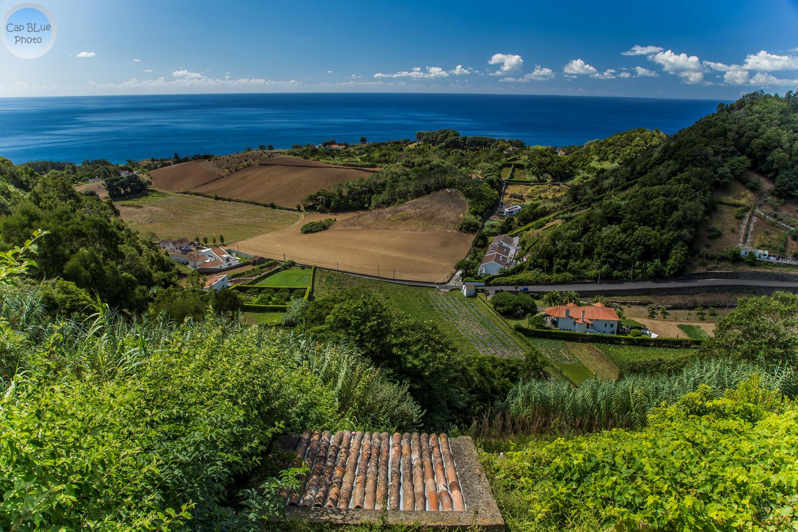 Caloura - Herrliches grünes Land im Bezirk Lagoa