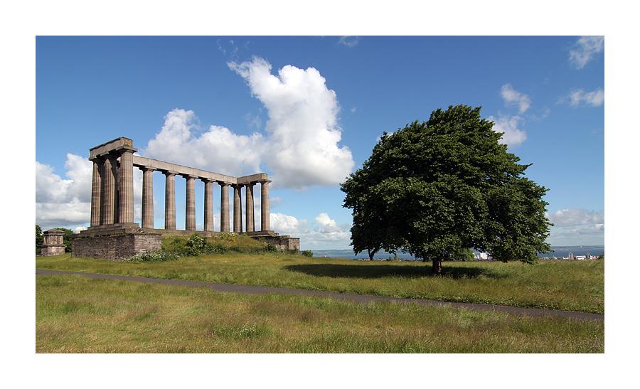 Calton Hill Akropolis