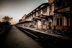 Camagüey - alter Bahnhof - Cuba