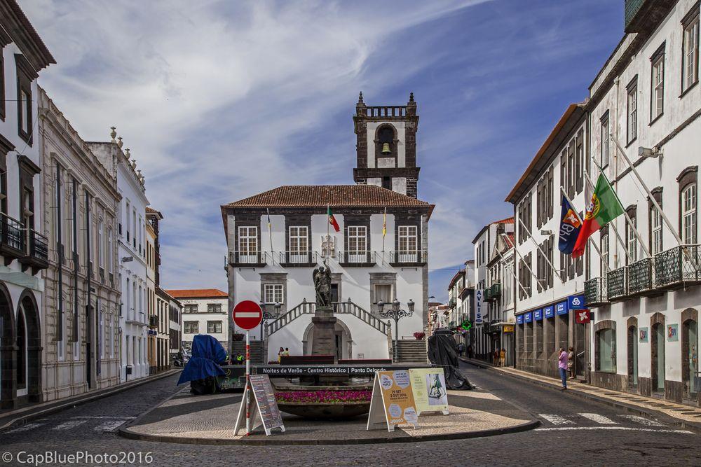 Camara Muncipal - Townhall - Rathaus Ponta Delgada