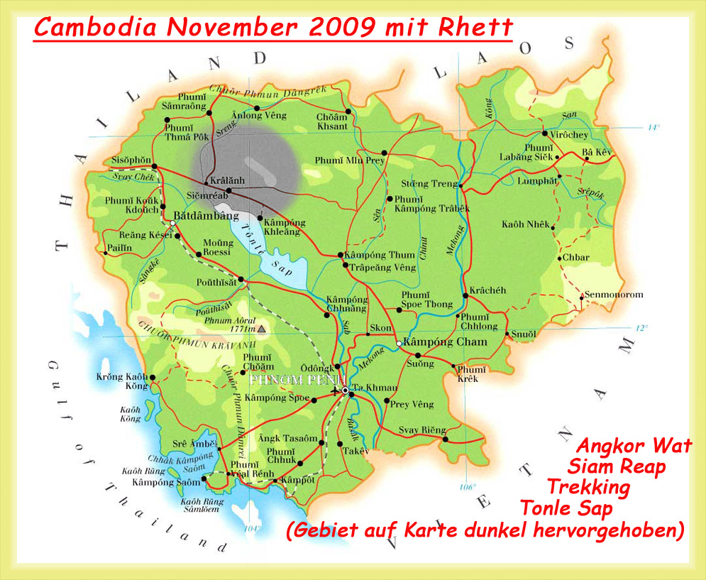 Cambodia auf neuen Wegen