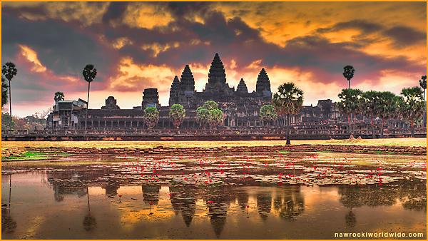 Cambodian Sunrise Angkor Wat