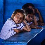 Camboya   Escuela flotante