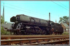 Camburg 9. September 1981 wir warteten auf Ra 12
