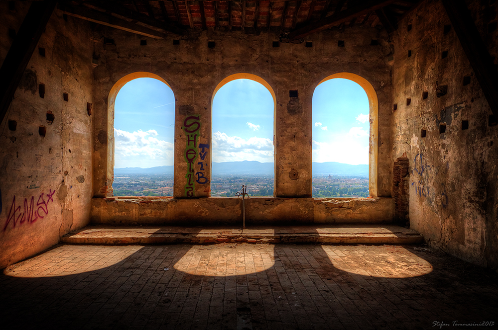 Camere con bella vista