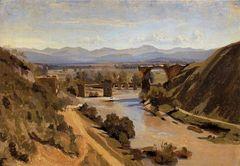 Camille Corot Augustusbrücke bei Narni