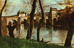 Camille Corot Brücke in Nantes