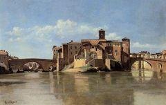 Camille Corot, S. Bartolomeo in Rom