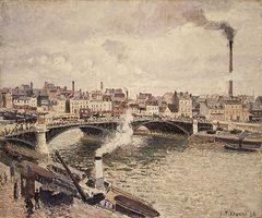 Camille Pissarro Rouen