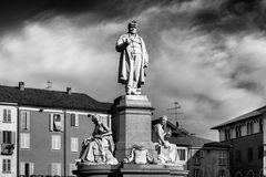 Camillo Benso di Cavour, Vercelli