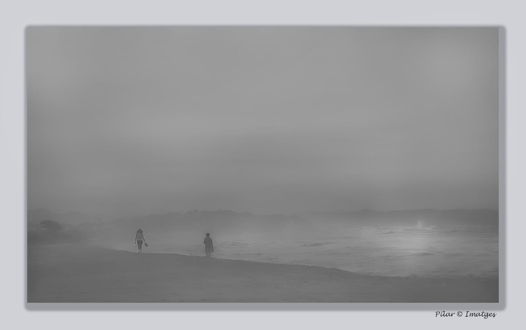 Caminando entre la niebla