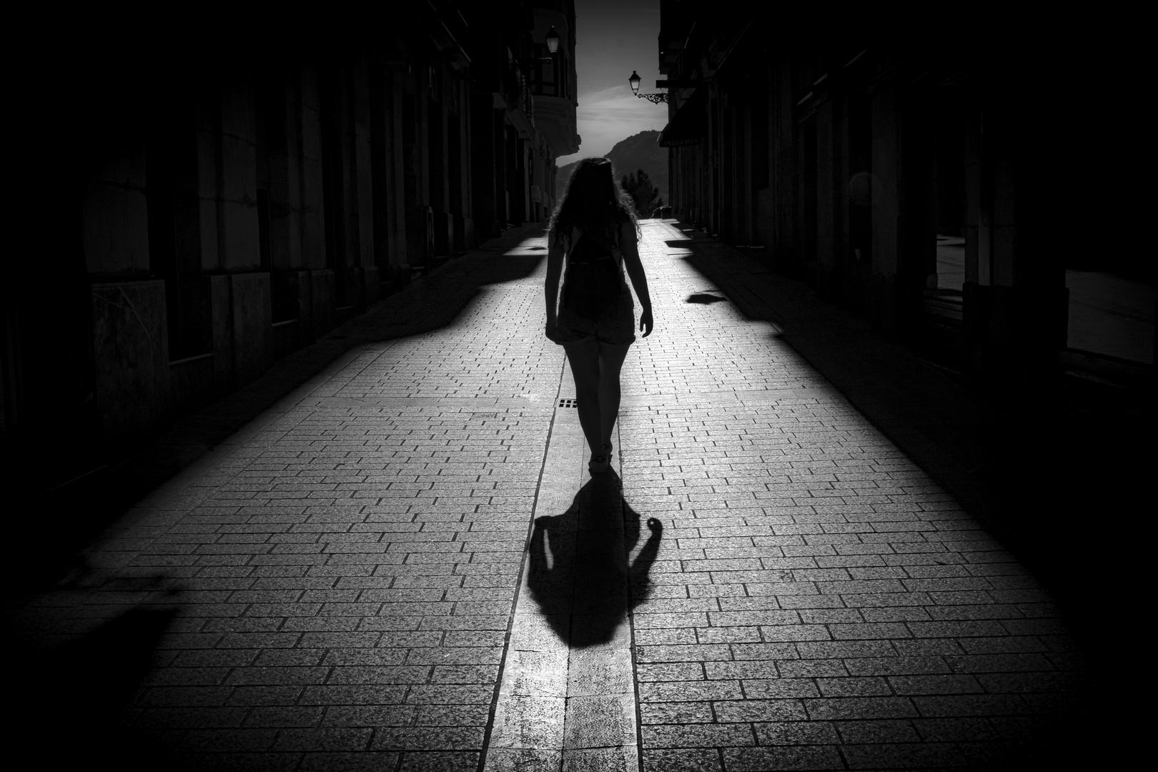 Caminando hacia el sol