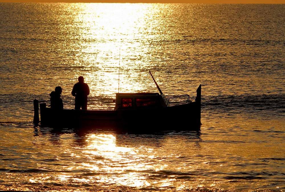 Caminando sobre el mar