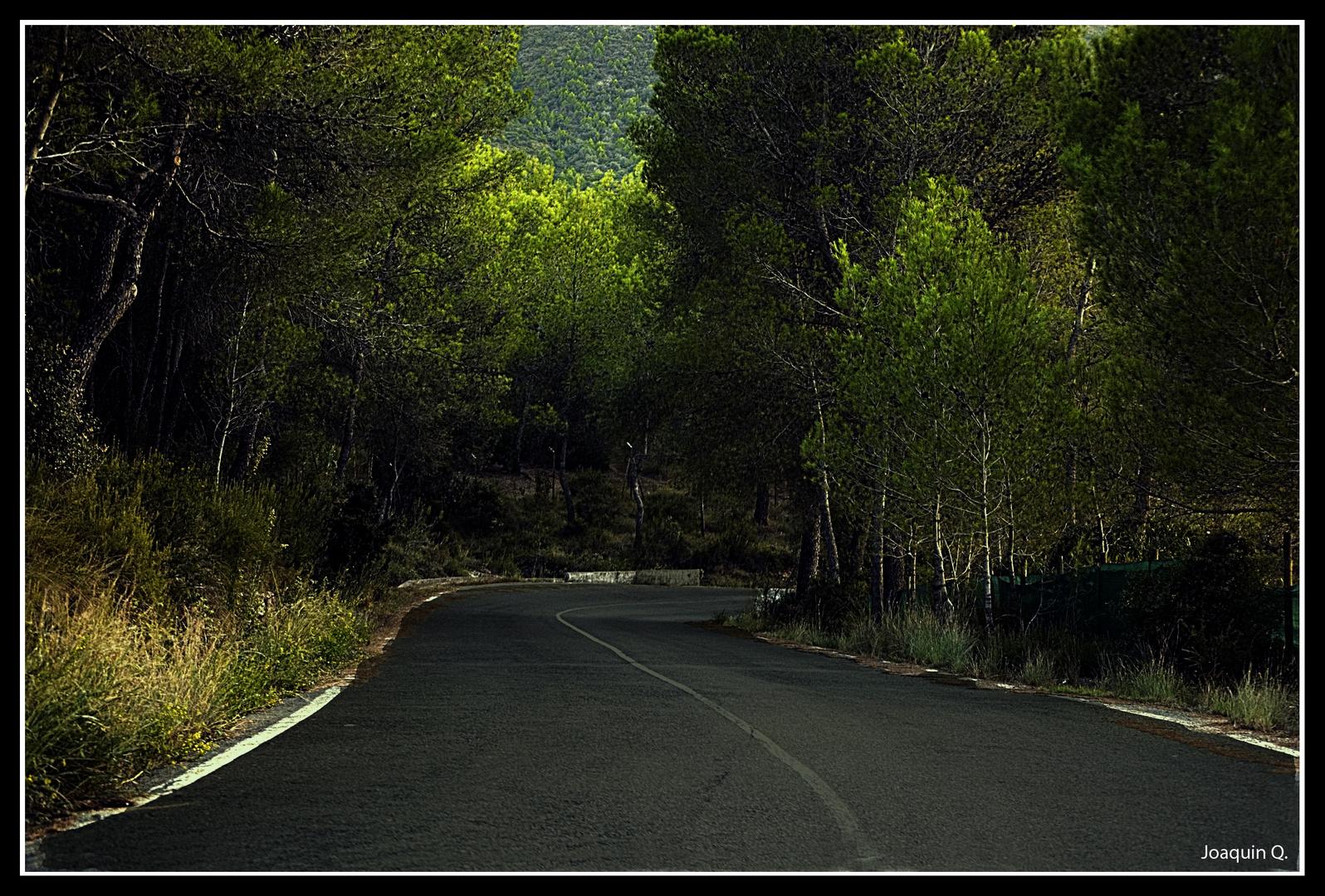Caminito de casa...que oscurece