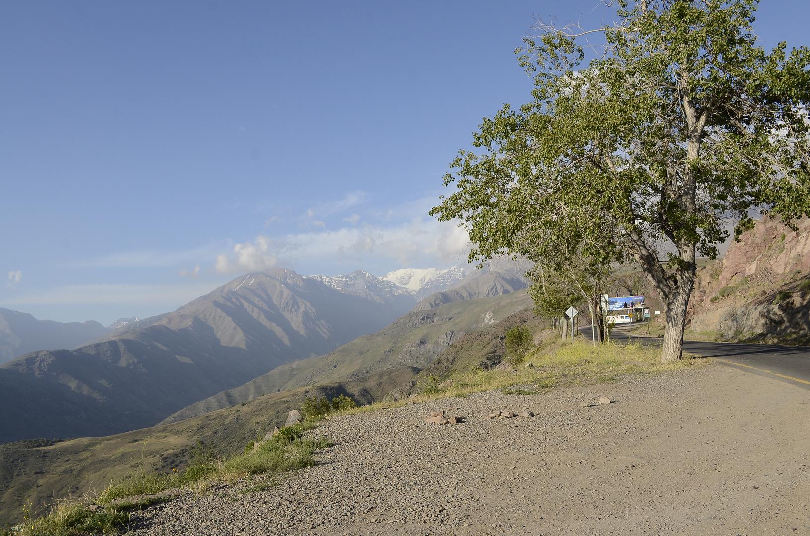Camino a La Parva
