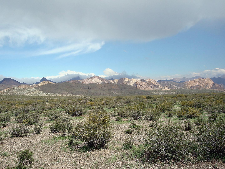 Camino a Uspallata, Provincia de Mendoza, Argentina