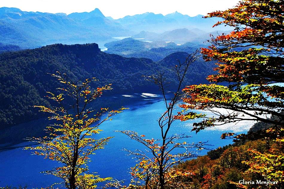 Camino de los siete lagos.