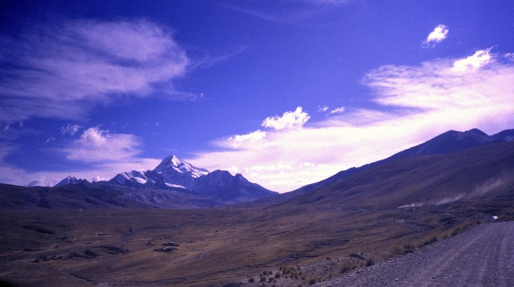 Camino del Huayna Potosi